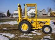 Mf202 massey ferguson fork lift wheel loader tractor