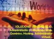 Planes web para cada necesidad, hosting y dominios (su presencia en internet) todo el pais