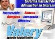 Valery instalacion software facturacion, administracion de tu empresa