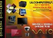 Reparaciòn de computadoras en barcelona lecherias puerto la cruz