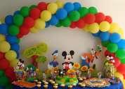 Decoracion con globos, fiestas infantiles, mesas fantasia  y mas!!!