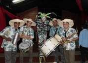 Grupo de samba mariachis costeÑo con el show del mono llama ya
