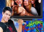 Karaoke dj miniteca sonido iluminacion animadores streaper