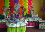 Alquiler de mesas fantasía, centros de mesa, cotillones, piñatas, tortas y mucho más!!