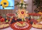Mesa de quesos y mesa de dulces para tus fiestas y eventos
