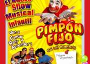 Pimpon fijo el nuevo show musical infantil