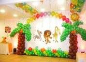 Decoracion fiestas infantiles, baby showers, 15 aÑos, navideÑas, san cristobal