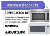 Reparacion de hornos-microondas todas las marcas y modelos y fallas adomicilio garantizado