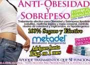 Aplicación anti obesidad metadel (metabolito adelgazante) para profesionales.