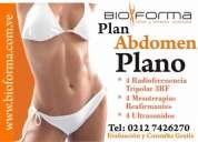 Plan **abdomen plano** cero grasa y piel super firme sistema unico bioforma