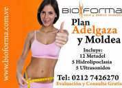 Plan adelgaza y moldea!! nueva hidrolipoclasia plus formula avanzada doble poder reductor