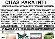 Citas para licencia en toda venezuela - 50 bs.