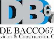 Construcción - remodelaciones - mantenimiento