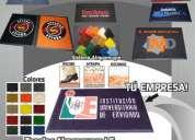 Fabricación de tapetes personalizado empresariales