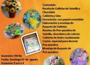 Curso de decoracion y galletas y ponquesitos