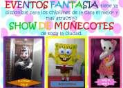 Show de muñecotes, super divertido y emocionate...de eventos fantasia