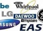 *agente autorizado *lg whirlpool samsung frigidaire* especializado a domicilio