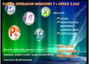 Curso: operador windows 7 + office 2.010