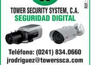 Tower security system, c.a-camaras de seguridad