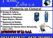 Plomi zulia plomeria en general evaluo gratis maracaibo y c.o.l