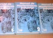 Manual de mantenimiento industrial en perfecto estado 3 tomos
