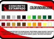 ventas de moldes y materiales para piso y concreto estampado