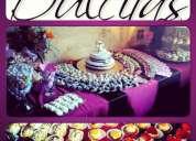 Alta reposteria para eventos, mesas de dulces, tortas y mas