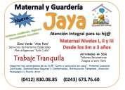Maternal y guardería  jaya