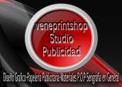 Veneprint studio publicidad....papeleria comercial en genegal visitas personalizadas.