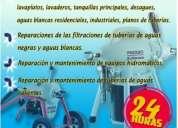 Plomeria maracaibo c.a destape de cañerias detención de filtraciones