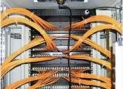 Redes de voz-data ,y cableados internos ,reparacion y servicios,