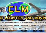 Cargo logisitics and moving, c.a.