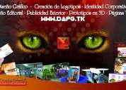 Diseñador gráfico freelance/dapg - logotipos, imagen corporativa, impresos, sitios web