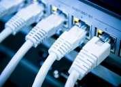 Redes de voz-data, y cableados, estructurados, construccion y reparacion,