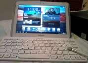 Con teclado inalámbrico y funda galaxy tab 10.1