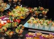 Servicio de catering para bodas, fiestas, cumpleaños todo tipo de eventos