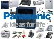 Servicio tecnico en telefonia panasonic, venta, y repuestos.