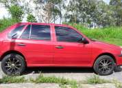 Volkswagen gol rojo