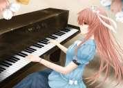 Clases de guitarra,piano,cuatro al mejor precio llama ya.