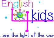 Academia de inglés para niños(as) a partir de 3 años - english 4 kids