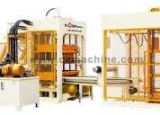 Maquina bloquera hidraulica para fabricar bloques y ladrillos