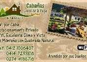Cabañas lasso de la vega merida venezuela excelente lugar para vacacionar