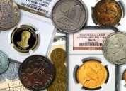 Compro monedas que están fuera de circulación