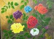 Vendo pintura artística al óleo