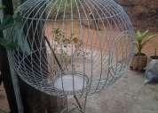 jaula para loros y guacamayas diferentes tamaños