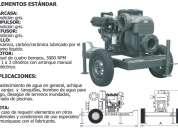 Motobomba 30hp motor lombardini