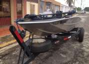 En venta bote metal glass big fish precio negociable