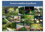 Servicios completos de jardinería y sistemas naturales sostenibles.