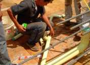 Reparaciones de tuberías de aguas blancas, aguas servidas y gas para condominios