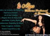 Alya farah bailarina profesional de danza Árabe